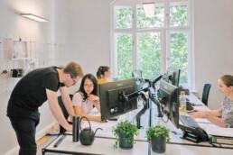 Bürobild vn Architekten bei D&CO